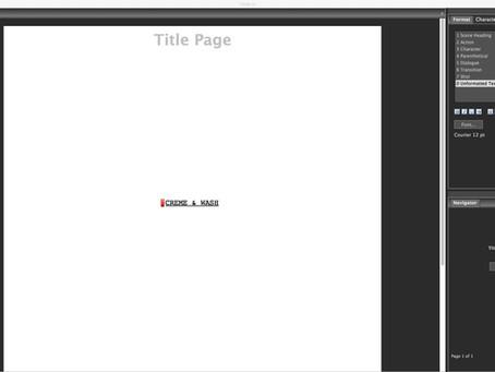 Q-Stories - Script No. 1