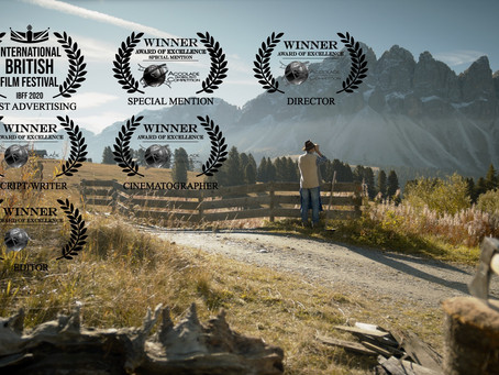 "IBFF's Award for ""Best Advertising"" goes to ""Gemeinsam sind wir Brixen"""