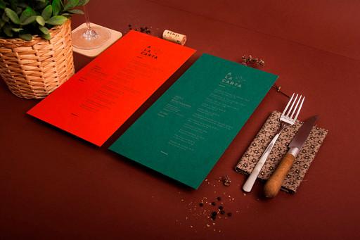 Disseny carta restaurant