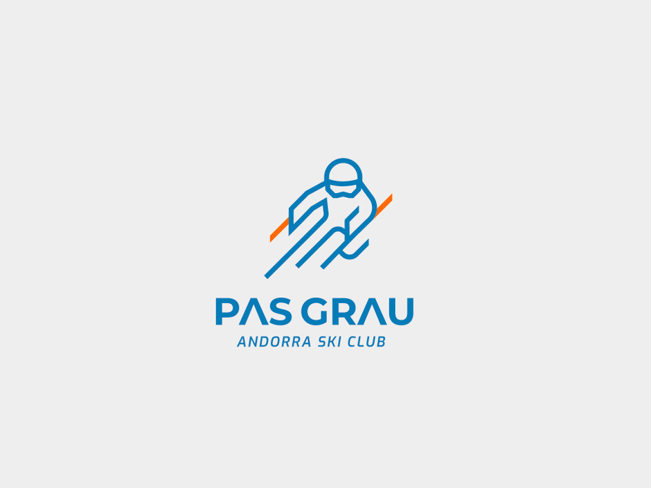 Disseny de marca Ski Club Pas Grau