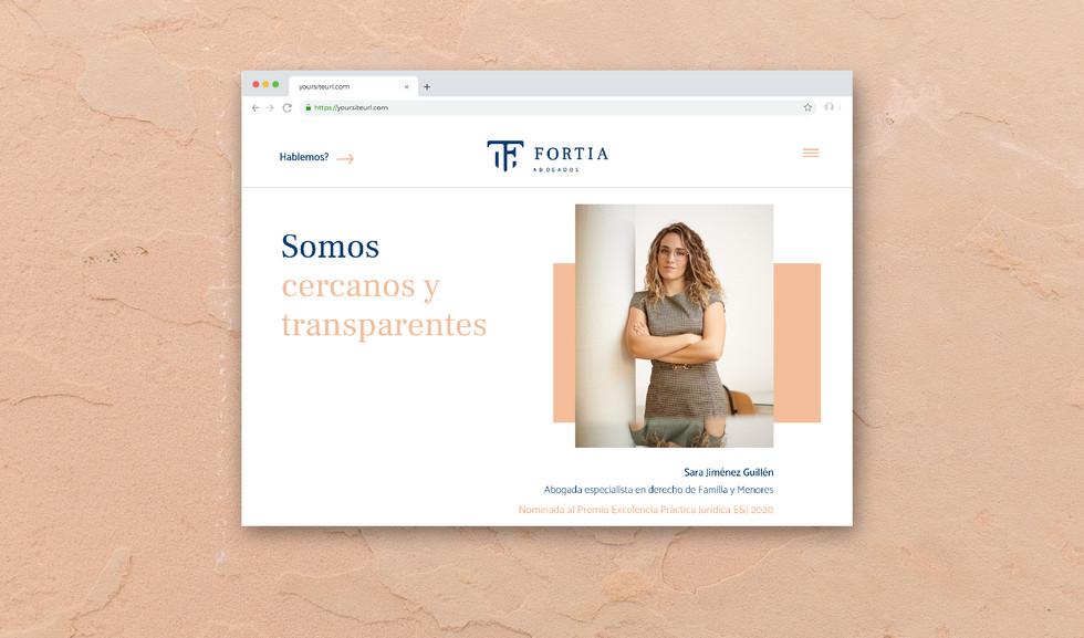 Disseny web Fortia Abogados_Duettstudio