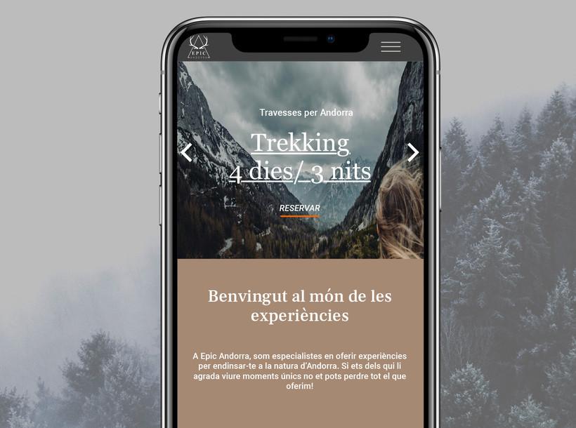 Disseny web Epic Andorra