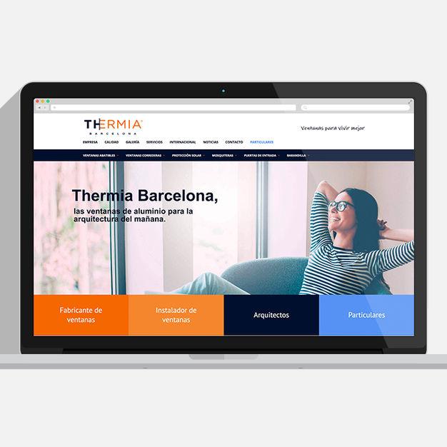 Disseny web Thermia Barcelona