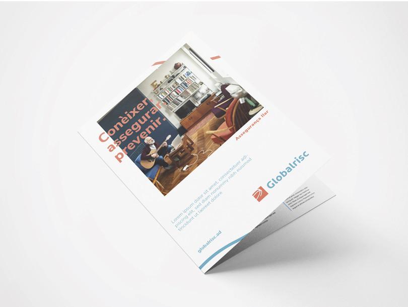 Disseny brochure Globalrisc