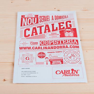 Disseny sobre Carlin Andorra