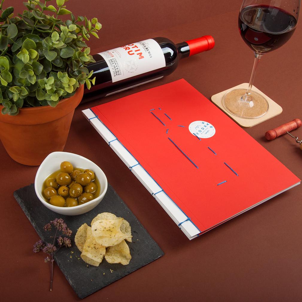 Disseny carta de vins