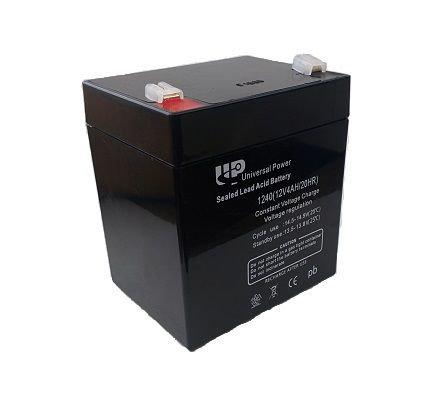 BAT-GB12V-4AH 12 Volt 4amp Battery Black