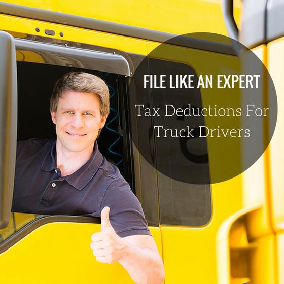 Truckers' Tax Tips & Truck Driver Tax Deduction Help