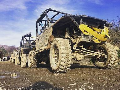 Fancy a muddy good weekend... The fleet