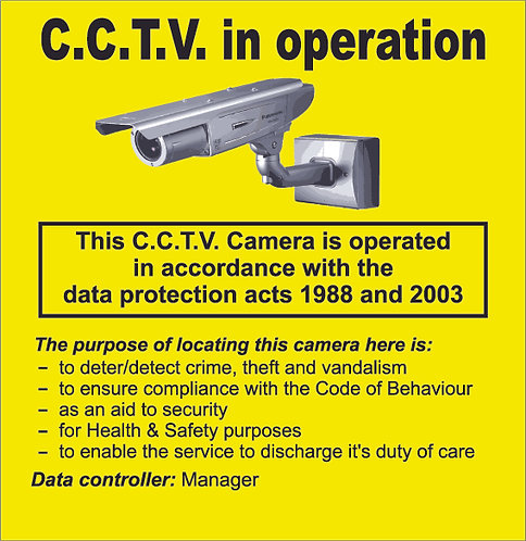 CCTV with Data act