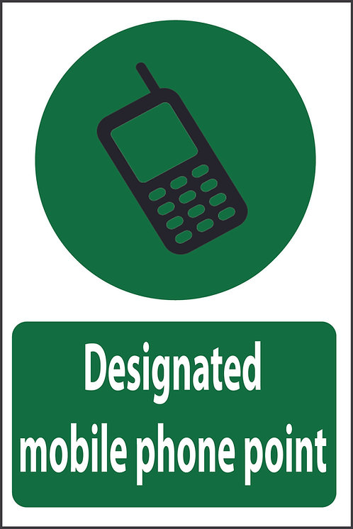 Designated mobile phone area