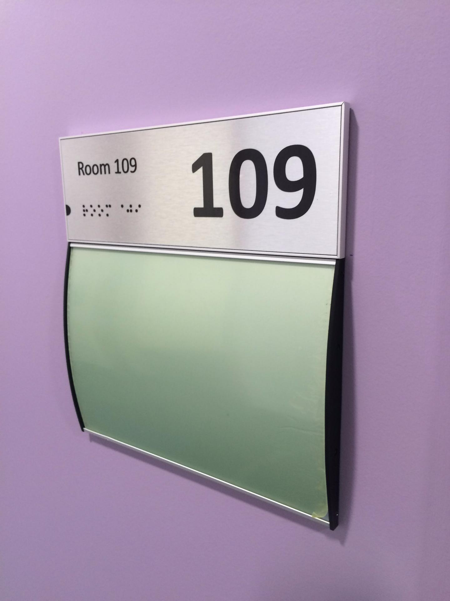 Room ID Plates