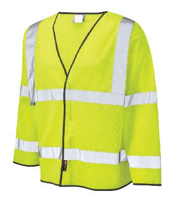 Hi-Vis Long Sleeve Waistcoat