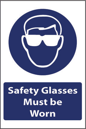Glasses must be worn