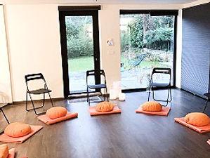 Salle de méditation - être au présentall