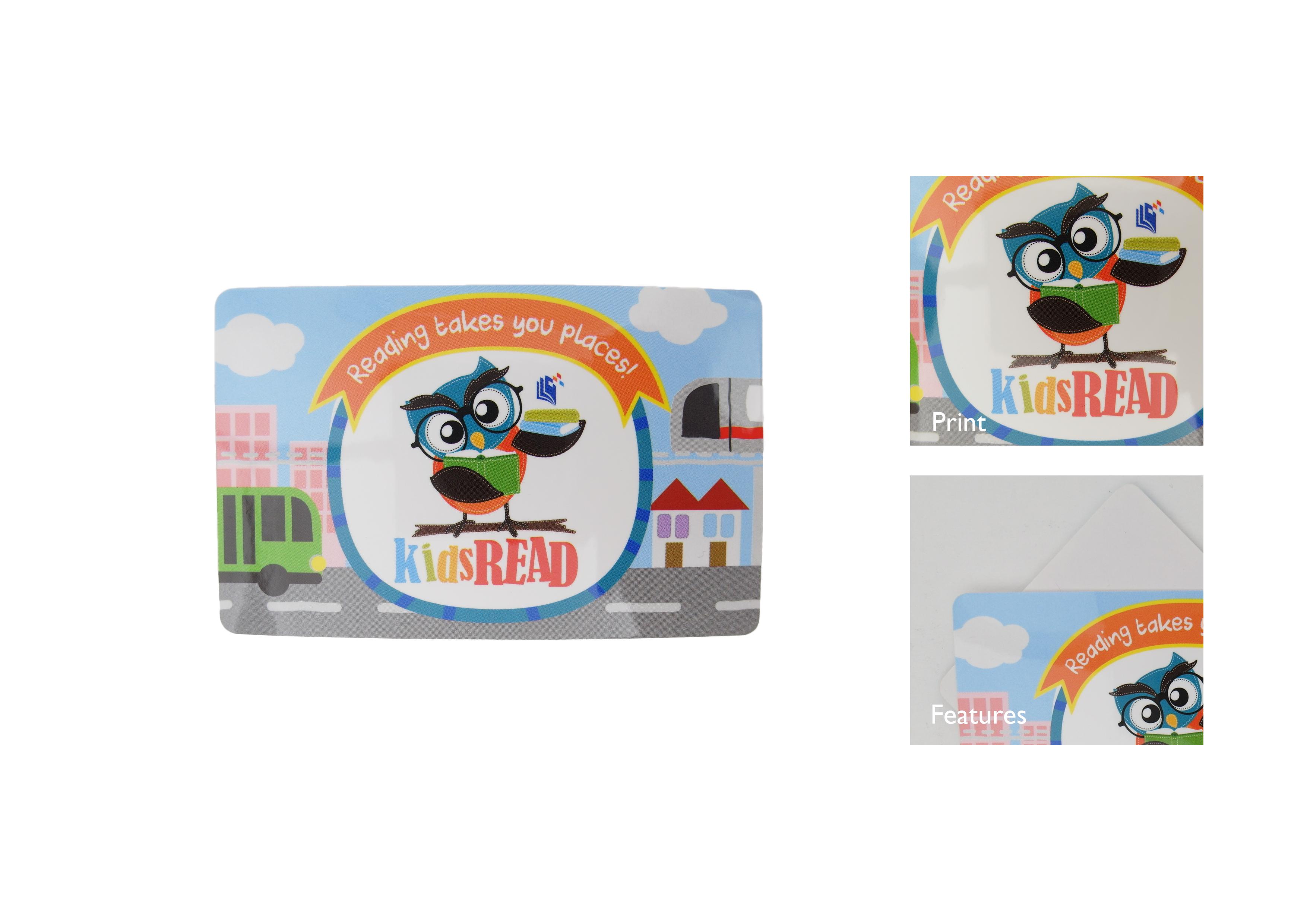 EZ-Link Card Sticker, NLB