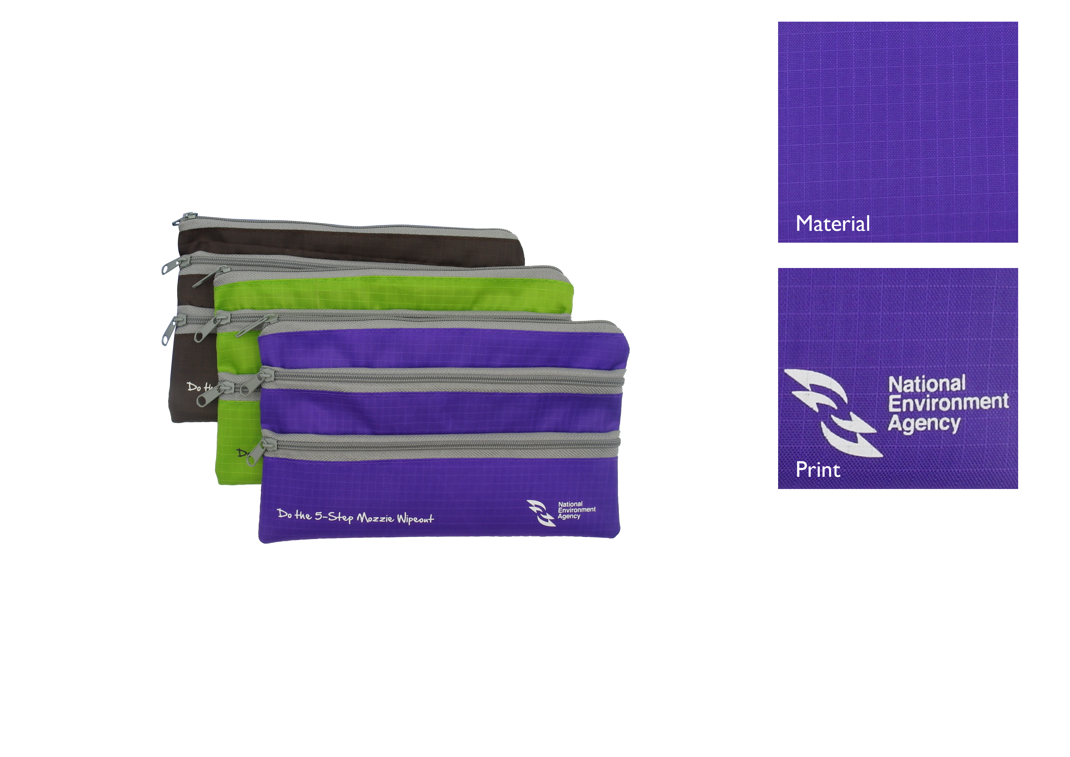 Multi-Compartment Zipper Pouch