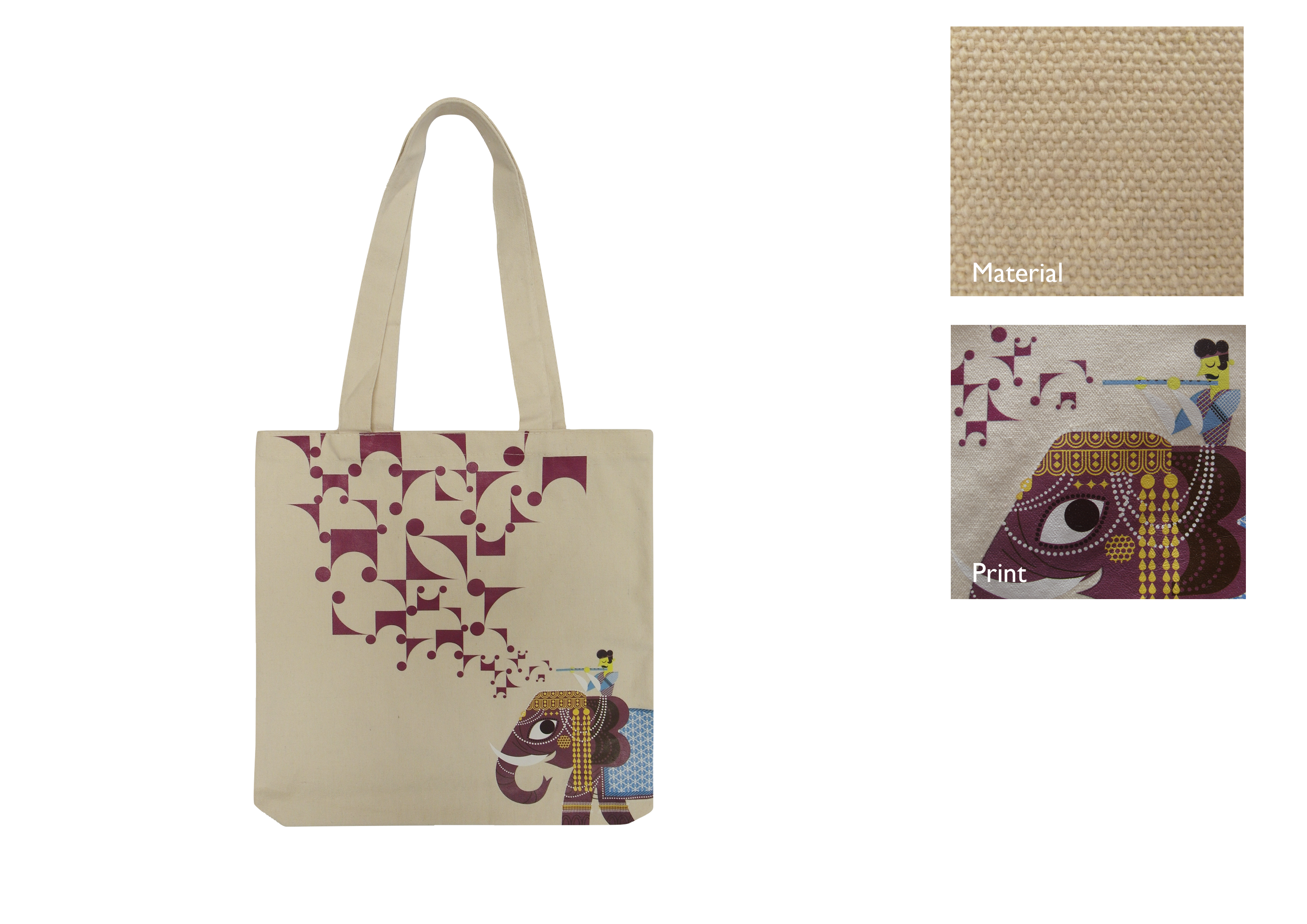 Indian Heritage Centre Tote Bag