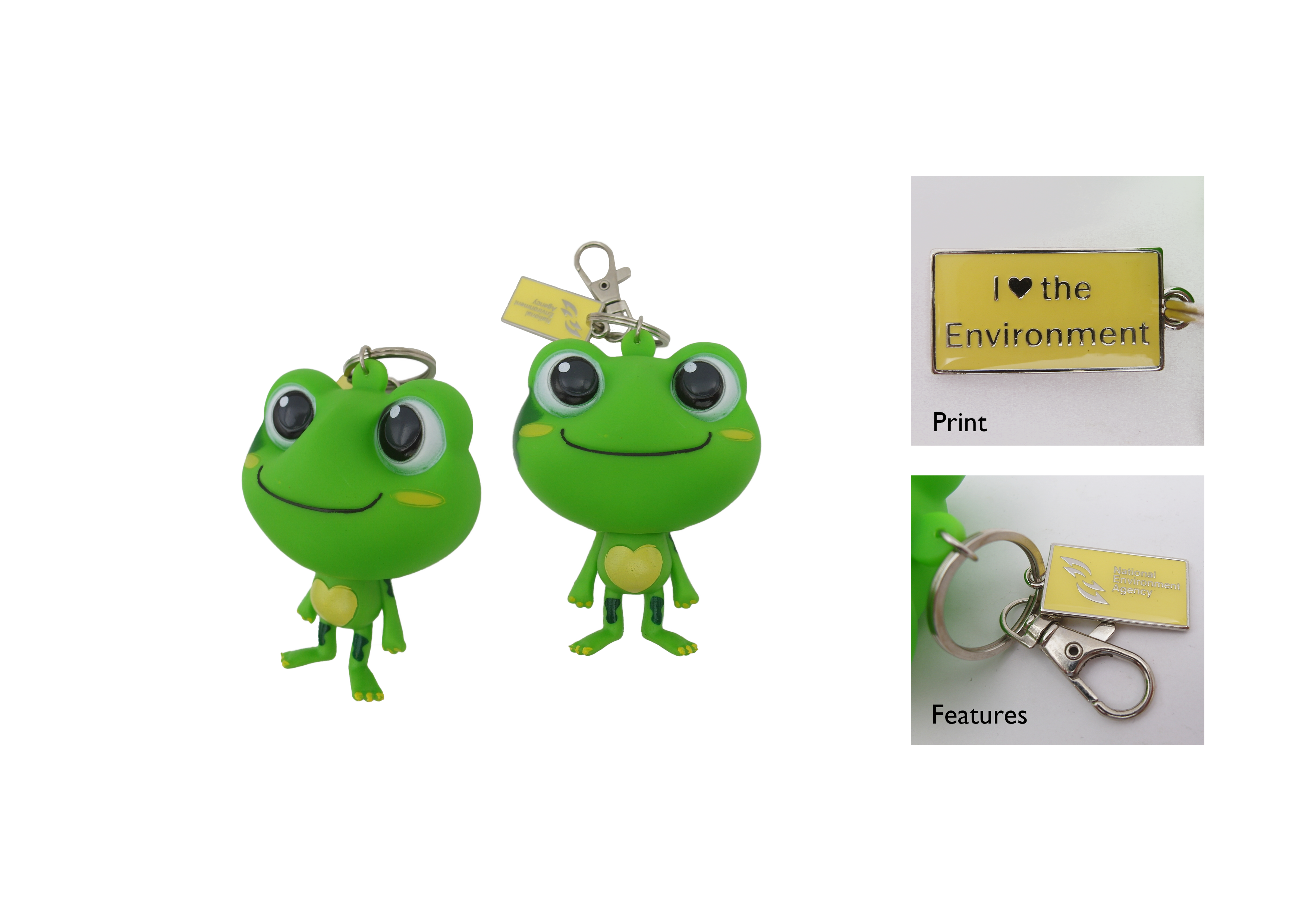 NEA 3D CG Keychain