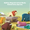 Thumbnail: Halftoys Magnetic Animal Blocks with Diorama - Elephant