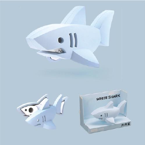 Halftoys Magnetic Animal Blocks - White Shark