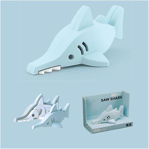 Halftoys Magnetic Animal Blocks - Saw Shark