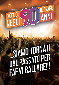 VOGLIO TORNARE NEGLI ANNI '90-manifesto