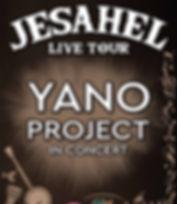 Copia di Jesahel Live Tour - Yano Projec