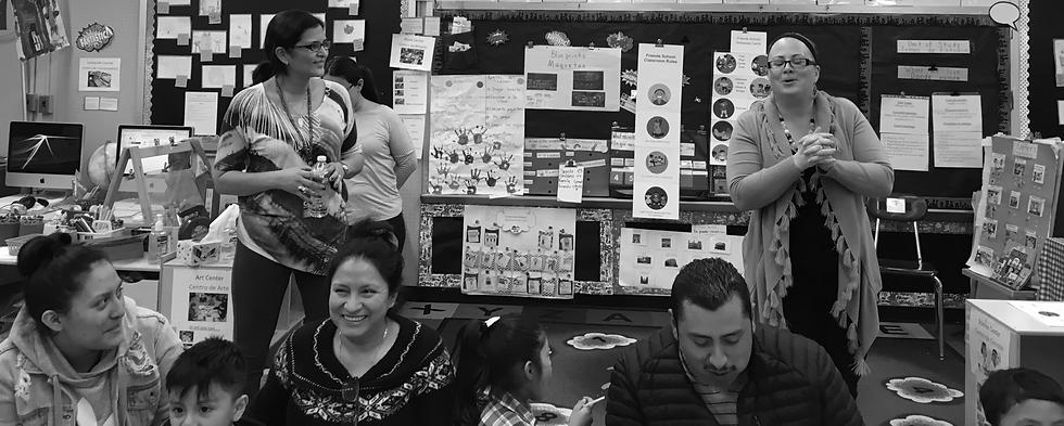 Pre-k families participate in ParentCorps Parenting Program