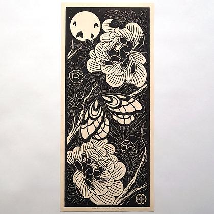 'Moonlight' Original Linoprint