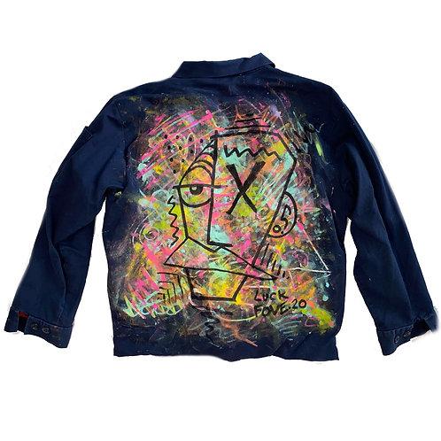 painted work jacket
