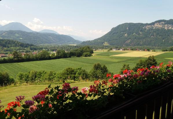 Balkon Aussicht Berge