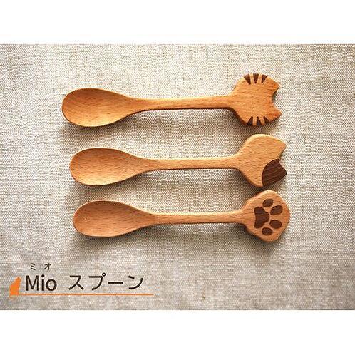 スプーン Mioシリーズ ネコ 【インドネシア製】