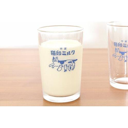 グラス|【星羊社】 猫印ミルク 【日本製】