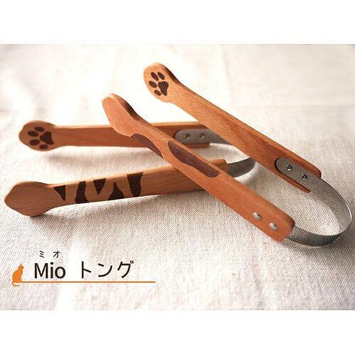 トング|Mioシリーズ ネコ 【インドネシア製】