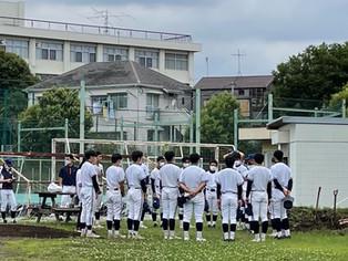 サポート活動 in 東京都立新宿高等学校野球部様