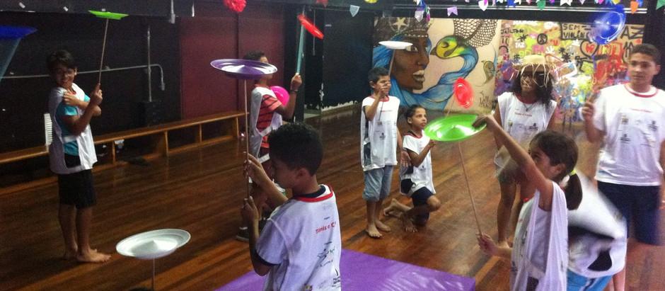Alunos da OSEB comemoram Festa Junina no CEU Perus