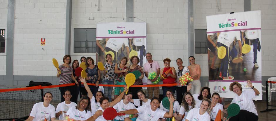 OSEB realiza segundo curso de capacitação para o tênis