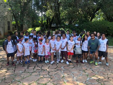 Projeto Tenista Cidadão: alunos fazem excursão ao Sesc Interlagos