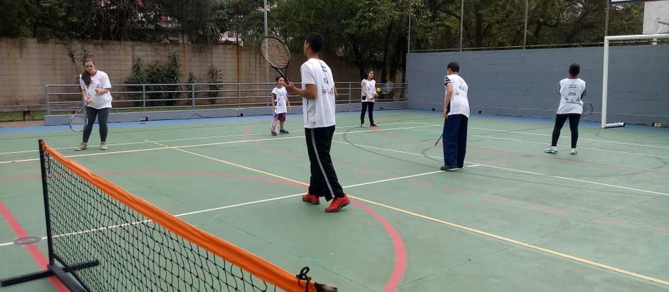 Novo projeto: OSEB oferece aulas gratuitas de tênis no CEU Campo Limpo