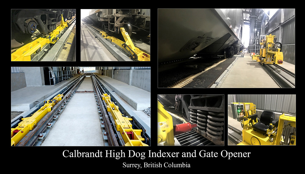Railcar Mover and Railcar Gate Opener