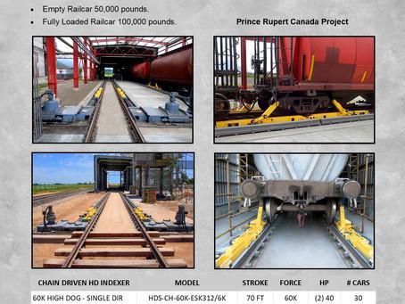 Calbrandt's High Dog Railcar Movers