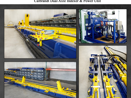 Getting ready to ship this Calbrandt Dual Axle Railcar Mover to Australia!