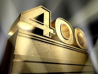 Podcast nº 400: Programa centenario con batidora de luxe