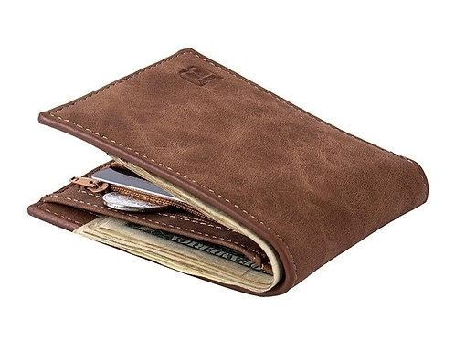 Men's Skinny Bifold Wallet