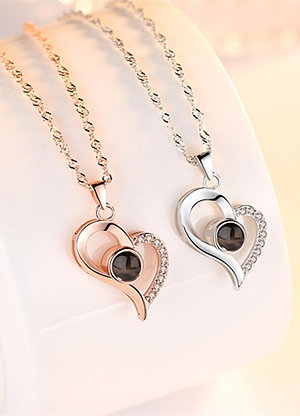 """""""I Love You"""" Necklace - 100 Languages"""