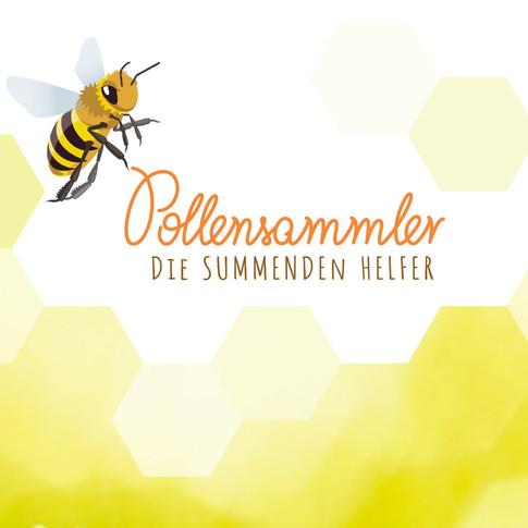 Pollensammler - Die summenden Helfer