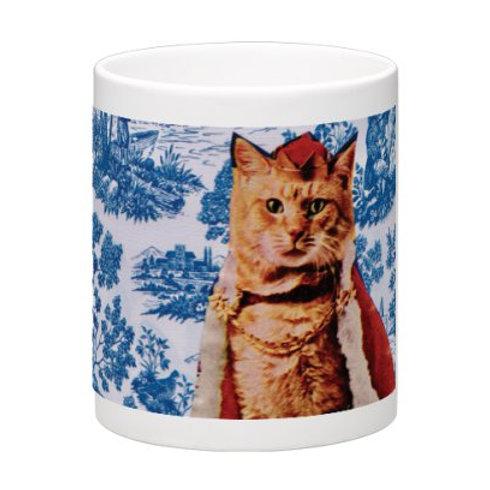 MUG CAT ROYALTY