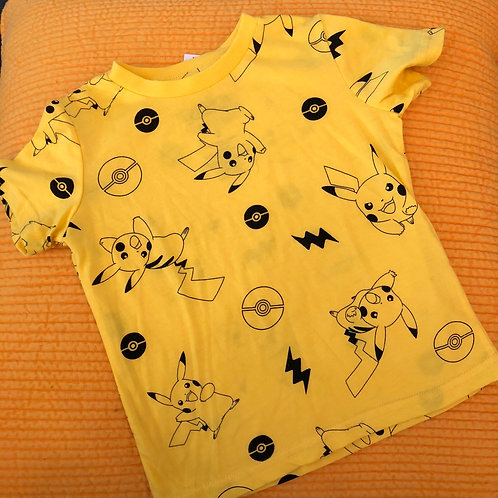 T shirt NINTENDO OFFICIEL-KIDS- POKEMON- MARIO