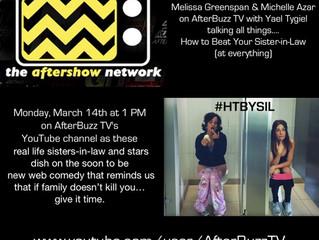 Melissa & Michelle on AfterBuzz TV!